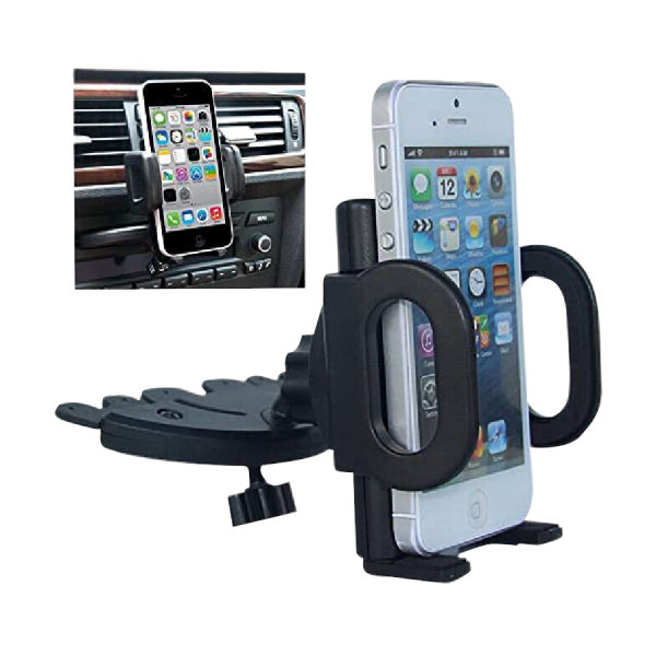 Car CD Slot Mount Mobile Holder Cradle Stand for ALL iPhone 6/6+ Samsung Galaxy S5/S4/S3 Note 2/3/4