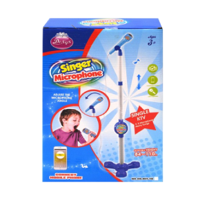 Sing Along Microphone MP3 Mobile Connection Light & Sound Toy