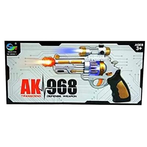 Toy Gun With Lights and Sounds For Kids Plastic Toy Pistol Gun