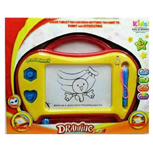 Kids Creative Educational Toy Magnetic Color Drawing Board Writing Magic Scribbler