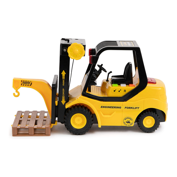 Fork Lift Pallet Truck Engineering Vehicle Miniature Replica Toy Model