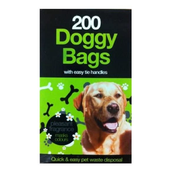200 Scented Fragranced Doggy Poo Pet Waste Bags