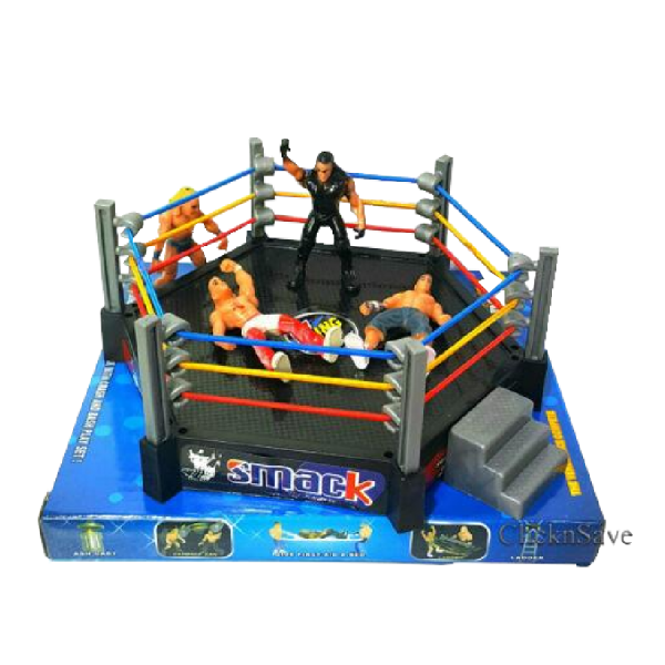 WWE Action Figures Smack Down RAW Wrestler Superstar Fight Ring BOYS