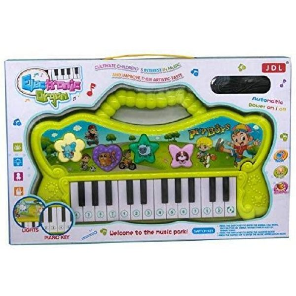 Piano For Kids Boys Girls Multi-functional Electronic Organ Piano Keyboard Toy With Light For Kids Age 3+