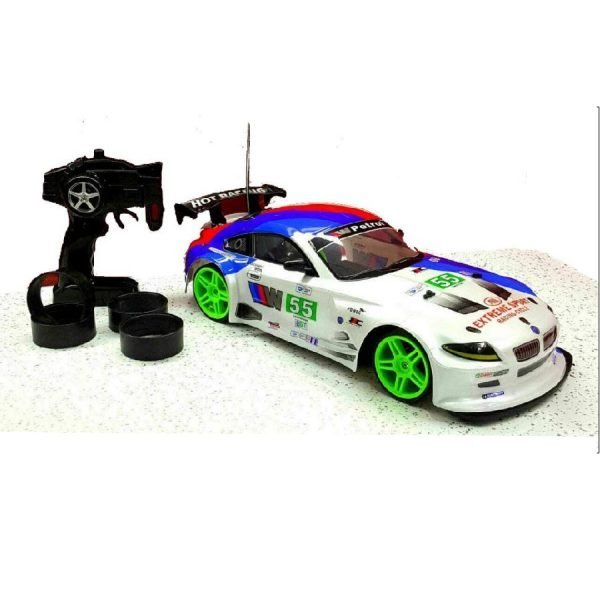 Remote Control 4WD Drift Car 1/10 Rechargeable Fast 20MPH Speed Spare Wheel