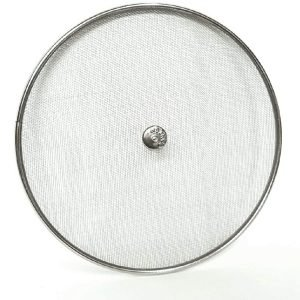 Kitchen Frying Pan Splatter Screen Cover Guard Protective Lid stainless 20cm