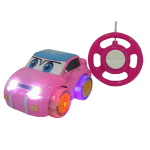Pink Purple Remote Control Car With Light And Music