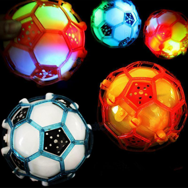 2x Jumping Joggle Bopper Light Up Bouncing Vibrating Gleams Gift Toy
