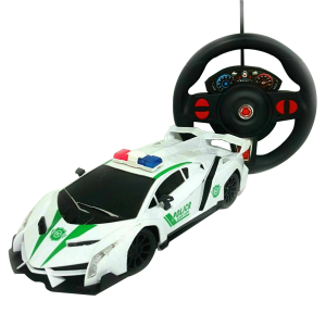 Kids Sports Police Car Gravity Sensor Remote Control Toy For Age 3+