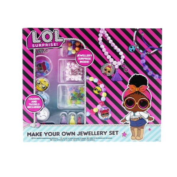 LOL Surprise! Make Your Own Jewellery Set With A Jewellery Surprise Inside