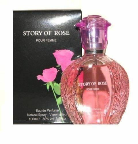 1X Brand New Story of Rose Ladies perfumes very nice smell 85ml for women