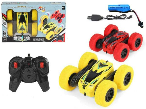 Rechargeable RC Stunt Car