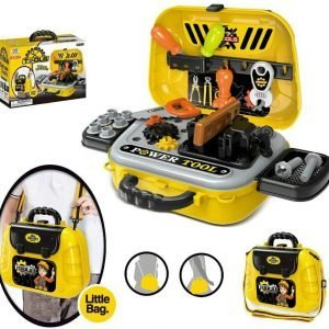 Play Power Tools For Boys Pretend Play Toy Tool Kit Set With Little Bag Play Set For Ages 3+