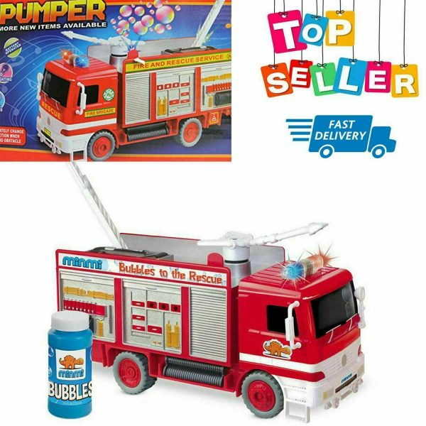 Fire Truck Toy Gift